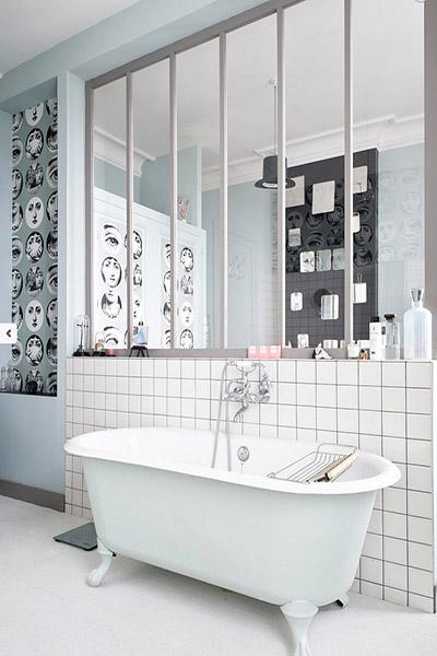Verrière salle de bain: une touche de luxe très tendance !